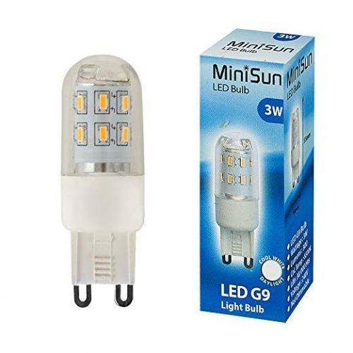 LED G9 Lightbulb 3W Cool White 6500K 300 Lumens